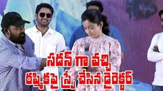 Rashmika Mandanna Hilarious Fun With Venky Kudumula || Nithin || Bheeshma Success Meet - IGTELUGU