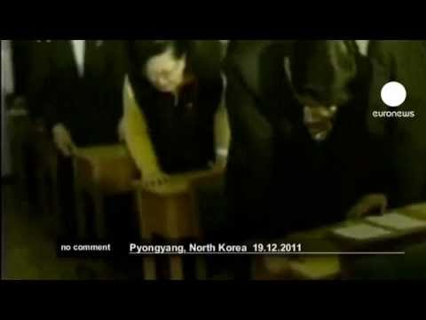 North Koreans' reaction to Kim Jong-il's death - no comment