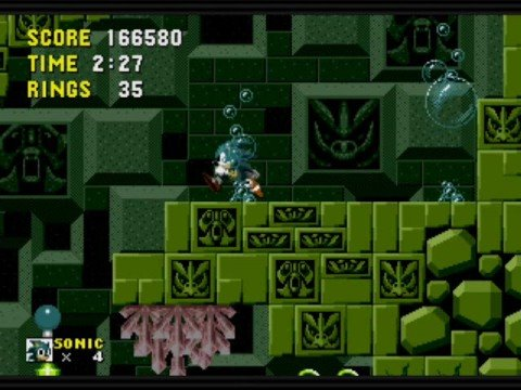 Sonic- Labyrinth Zone (Act 1)
