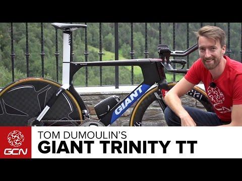 Tom Dumoulin's Giant Trinity Time Trial Bike