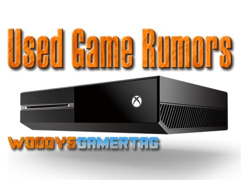 XBOX ONE - False Used Games Rumors