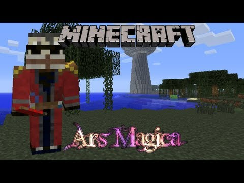 Minecraft Ars Magica Let's Play Episode 85 ~ Archmage Tower