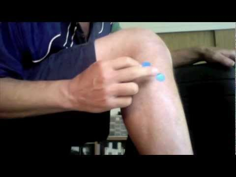 Leg Pain & Stiffness Acupressure Points