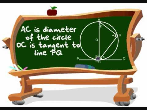 Alternate Segment Theorem [Maths ATT 304 (06,07.08,21)].wmv