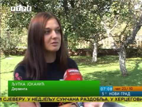 Priča o Ljupki Jokanić, isječak iz Jutarnjeg programa RTRS