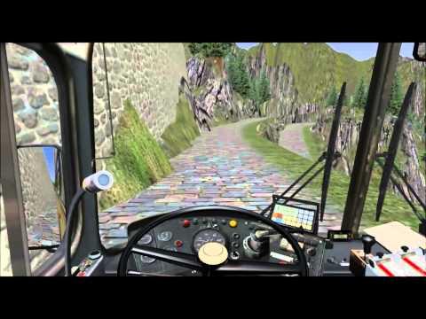 Omsi - Simulador de ônibus - Roemerberg V2.0 - Gletscher Xpress.
