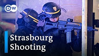 Manhunt under way after shooting at Strasbourg christmas market | DW News - DEUTSCHEWELLEENGLISH