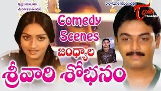 Srivari Sobhanam  Movie Comedy Scenes || Back to Back ||  Naresh || Anita Reddy - TELUGUONE