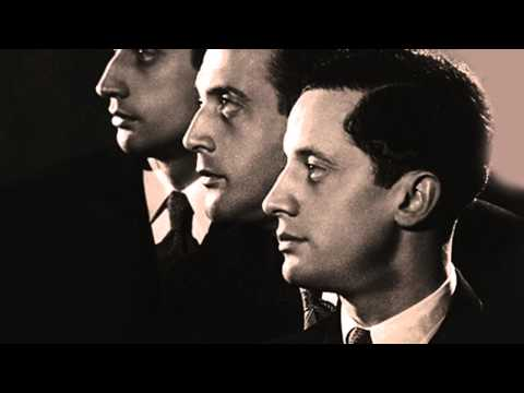 The Pasquier Trio Play Music Of Pierné - Live in 1953