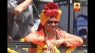 Malegaon bombings: Sadhvi Pragya receives warm welcome in Surat - ABPNEWSTV