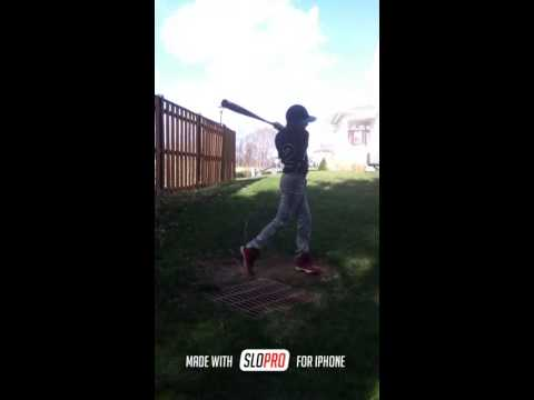 Perfect Baseball Swing!!😃😃