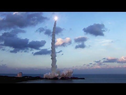 Astro-H launch (Hitomi - X-ray Astronomy Satellite)