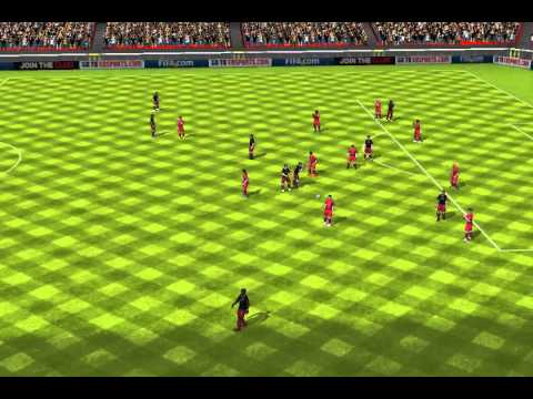 FIFA 13 iPhone/iPad - BRAZZERS vs. PSG