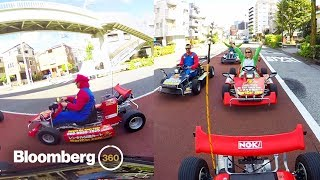 360 Real-Life Mario Kart in Tokyo - BLOOMBERG