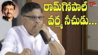 Allu Aravind Strong Counter to Ram Gopal Varma || Sri Reddy Controversy | TeluguOne - TELUGUONE