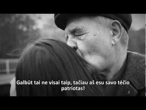 Video: Kiekvienam žmogui reikalingas tėtis. - Tėtis, o ne žodis...