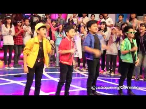 Coboy Jr. Taping Dahsyat RCTI 18 Desember 2011 - Behind The Stage