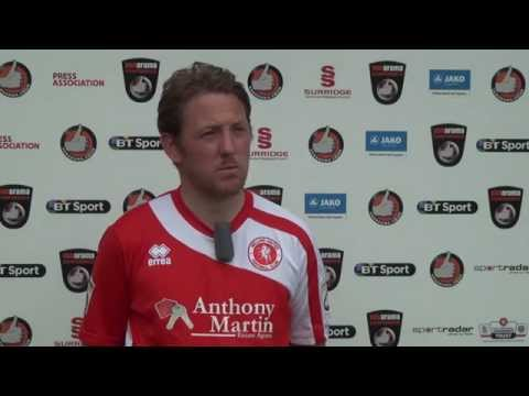 WingsTV Jamie Day  Freeview after Welling United V Forest Green Rovers Vanarama Conference