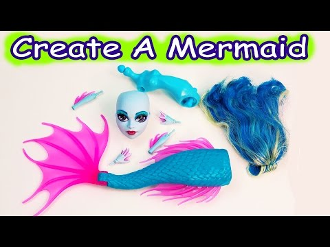 Mermaid Siren Create A Monster High Doll Add On Starter Pack CAM Playset Set Cookieswirlc