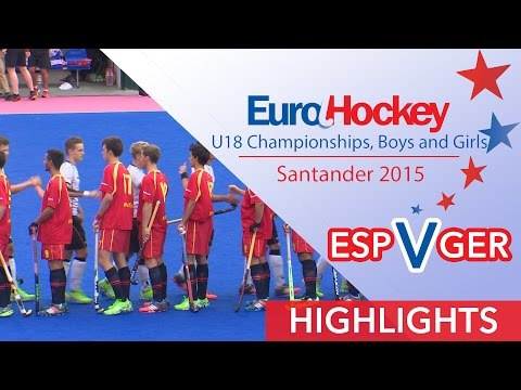 Spain v Germany - EuroHockey U18 Men