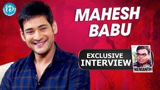Mahesh Babu Exclusive Interview    Talking Movies With iDream # 162    #Brahmotsavam - IDREAMMOVIES