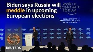 Biden calls Russia biggest threat to international order - REUTERSVIDEO