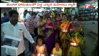 Women Rally Against Supreme Court Verdict On Women's Entry into Sabarimala | Secunderabad |CVR News - CVRNEWSOFFICIAL