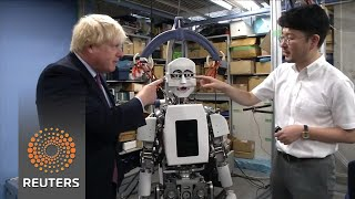 Boris Johnson's bionic diplomacy in Japan - REUTERSVIDEO