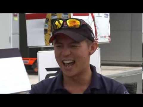 Porsche Carrera Cup Asia driver Yuey Tan on Singapore