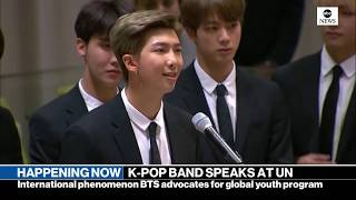 K-Pop group BTS addresses UN General Assembly | ABC News - ABCNEWS