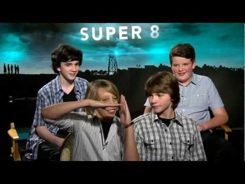 Super 8 - Exclusive: Joel Courtney, Ryan Lee, Riley Griffiths and Zach Mills Interview