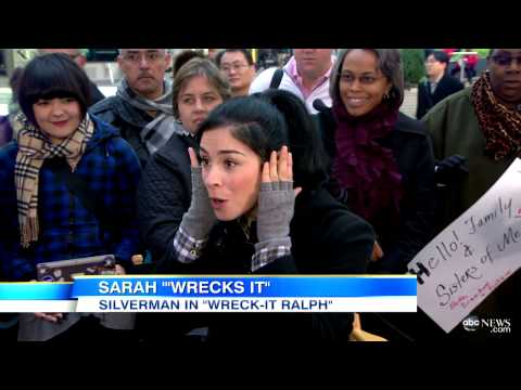 'Wreck-it Ralph' Star Sarah Silverman Interview: Star on John C. Reilly, Animation Process