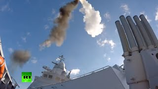 Missile Launching: Russian Navy drills in the Baltic Sea - RUSSIATODAY