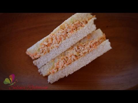 মজাদার চিকেন স্যান্ডউইচ ॥ Tasty Chicken Sandwich ॥ Bangla Recipe ॥ R# 114
