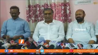 Harish Rao Rapprochement Development Works at Komuravelli Mallikarjuna Swamy temple | iNews - INEWS