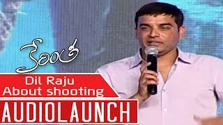 Dil Raju Emotional Speech About shooting At Kerintha Audio Launch    Sumanth Ashwin, Sri Divya - ADITYAMUSIC