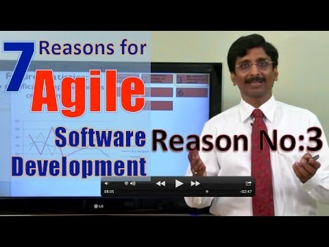 5.Seven Reasons for Agile: Reason No: 3