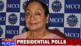 Meira Kumar Losses Race To Raisina Hills, Ram Nath Kovind Is India's New President - TIMESNOWONLINE