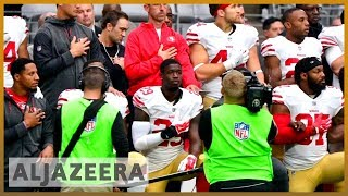 🏈 US: NFL to fine teams if players refuse to stand for anthem | Al Jazeera English - ALJAZEERAENGLISH