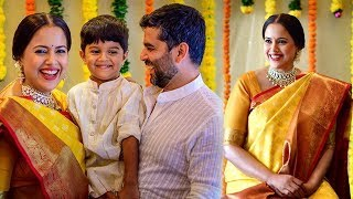 Sameera Reddy's Baby Shower With Her Family & Friends | Sameera Reddy's  Seemantham - RAJSHRITELUGU