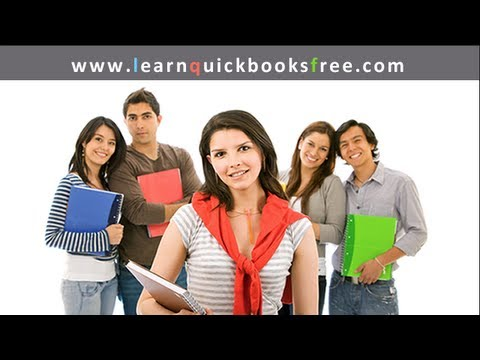 Quickbooks Tutorial - Lesson B Part 1 - Accounts Payable & Vendors