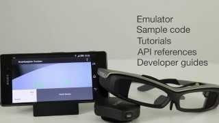SmartEyeglass نظارة سوني الذكية والمنافسة لنظارة جوجل