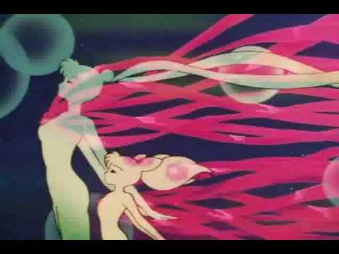 Sailor Mini Moon/ Outer Senshi attacks and transformations in HD