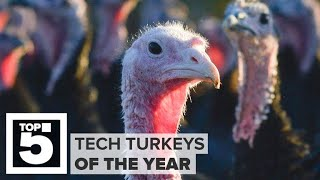 The biggest tech turkeys of 2018 (CNET Top 5) - CNETTV