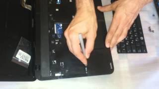 Разборка ноутбука Toshiba SATELLITE L850 B4K