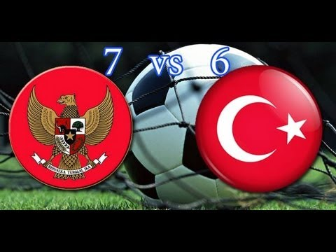 All Gol Indonesia vs Turki 7-6 Adu Pinalti + Highlight ISG - 27 September 2013