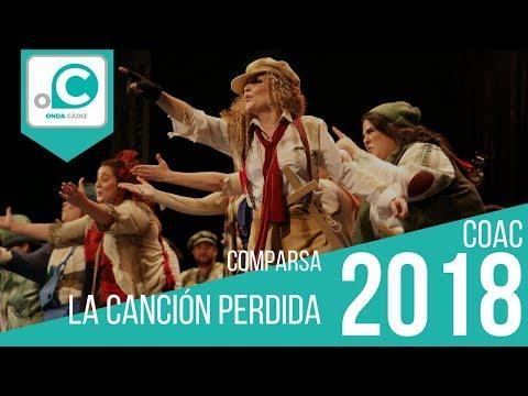 Sesión de Preliminares, la agrupación La canción perdida actúa hoy en la modalidad de Comparsas.