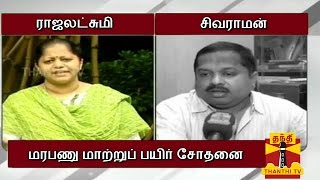 "Aalukkoru Nimisham 19-08-2014 Debate On ""Genetically Modified Crops"" – Thanthi TV Show"