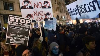 Protesters gather in DC on inaugural weekend - CNN
