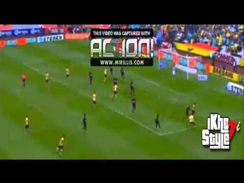America Vs Monterrey 2-0 Todos los Goles - Liga MX 18/10/2014